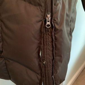 Lands' End Jackets & Coats - Lands End Down Long Puffer Coat with Fur Hood (A)